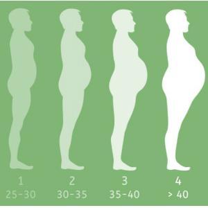 4 stadia BMI