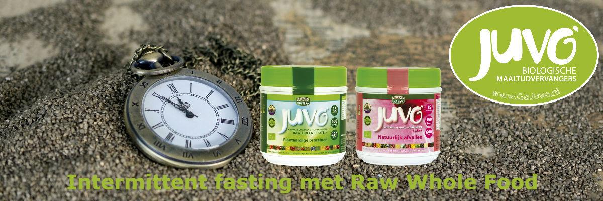 Intermittent fasting met Juvo raw food