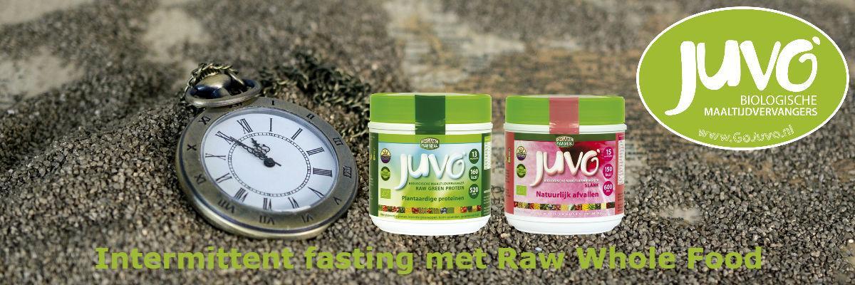 Intermittent fasting met Juvo raw food