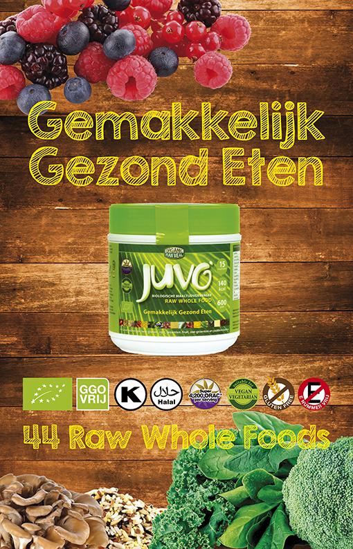 afbeelding Juvo original raw whole food gemakkelijk gezond eten