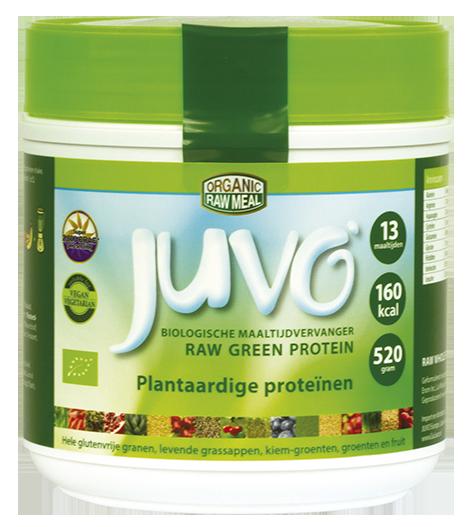 Juvo raw green protein plantaardige proteinen maaltijdvervanger