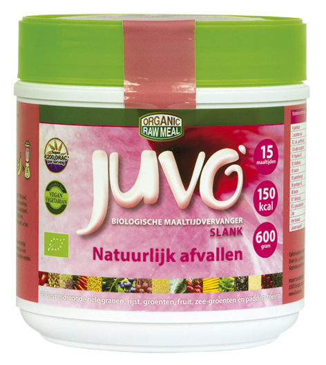 Afbeelding juvo raw whole meal slim slank juvo maaltijdvervanger