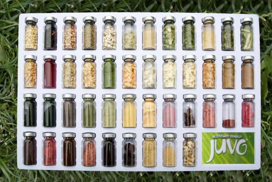 afbeelding ingrediënten Juvo raw whole food maaltijdvervangers