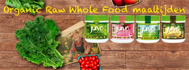 organic raw whole food maaltijden